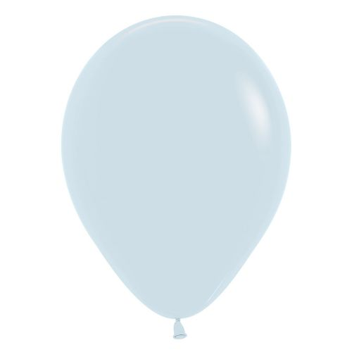 "Fashion Colour Solid White 005 Latex Balloons 12""/30cm"